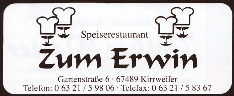 """Zum Erwin"""