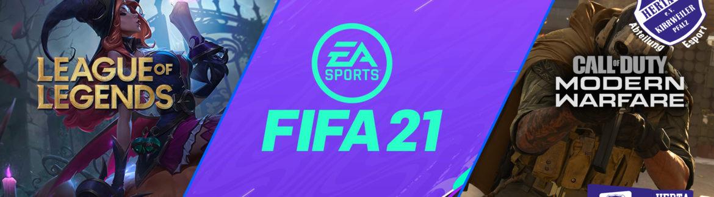 Erstes Spiel unserer Esports-Abteilung – Team FIFA21 am 01.12.2020